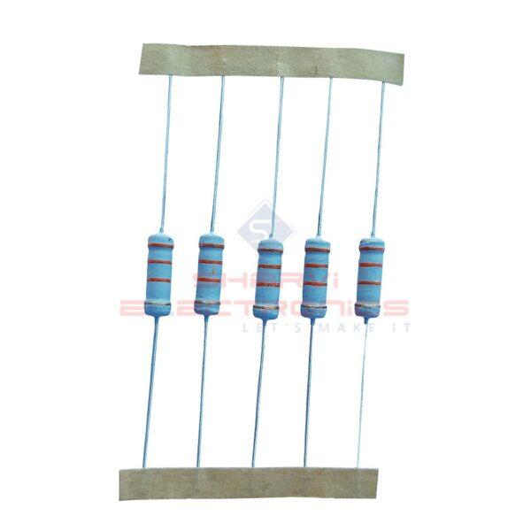 200K Ohm 1 Watt Resistor – 5 Pieces Pack