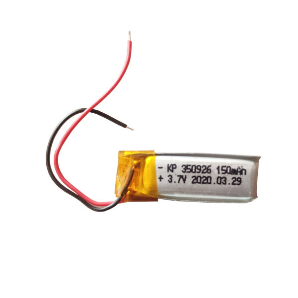 Lipo Rechargeable Battery-3.7V/150mAH-kp-350926 Model