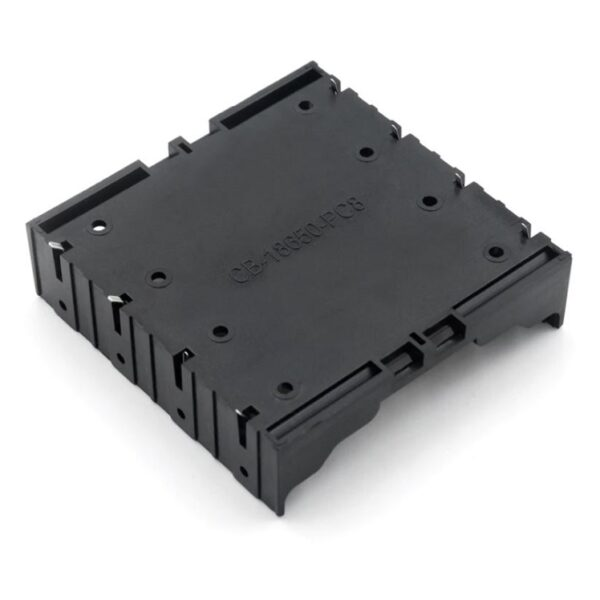 Battery Holder For 4×3.7V BK-18650-PC8 sharvielectronics.com