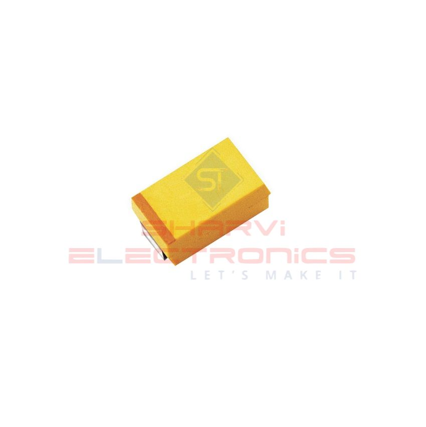 22uF 16V Elec Capacitor - SMD - Pack of 5