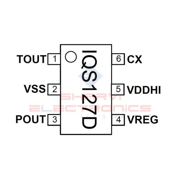 IQS127D - Single Channel Capacitive Proximity/Touch Controller SMD_2