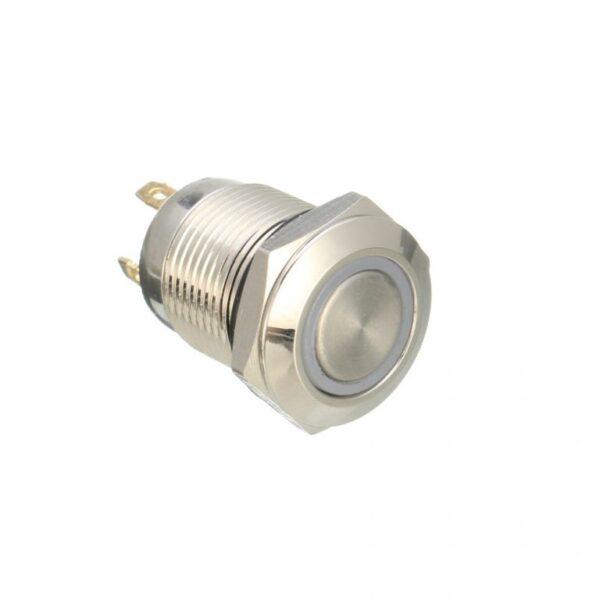 ILLUMINATED Switch With Blue LED sharvielectronics.com