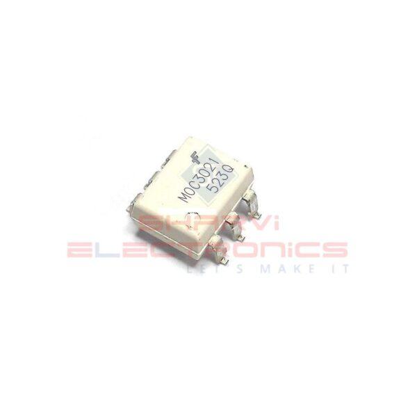 MOC3021 - Random-Phase Optoisolators TRIAC Driver Output - 6-Pin DIP