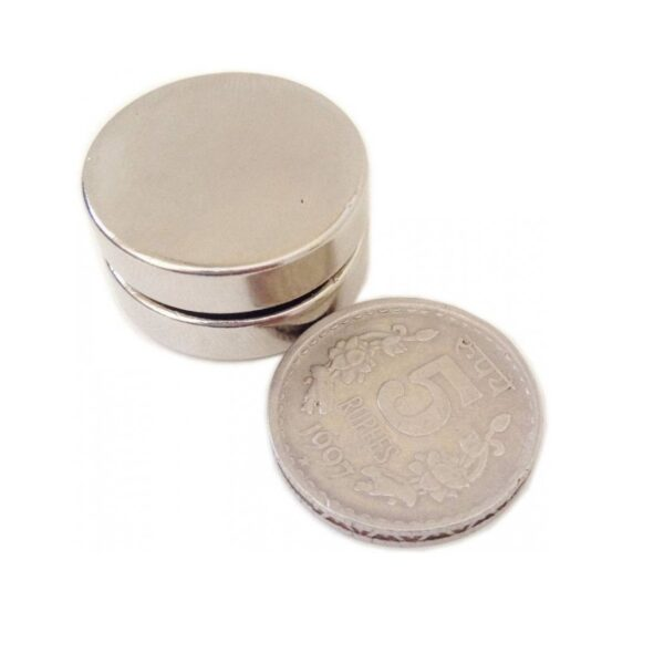 Neodymium Disc Strong Magnet – 25mm x 6mm sharvielectronics.com