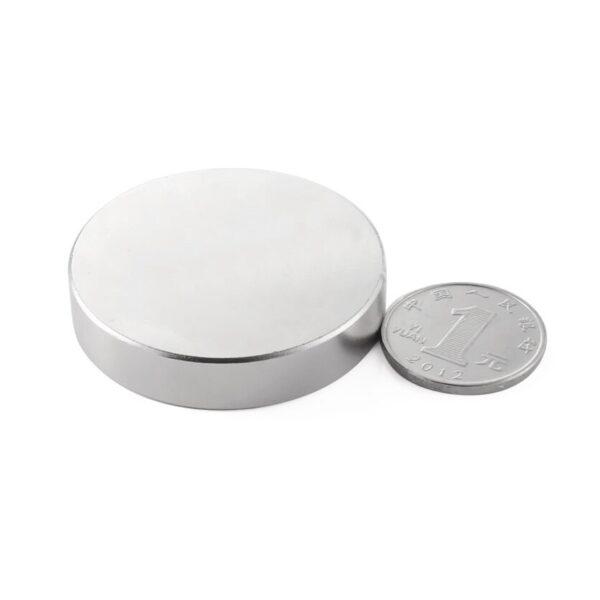 Neodymium Disc Strong Magnet – 50mm x 10mm sharvielectronics.com