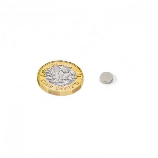 Neodymium Disc Strong Magnet – 6mm x 1.5mm sharvielectronics.com