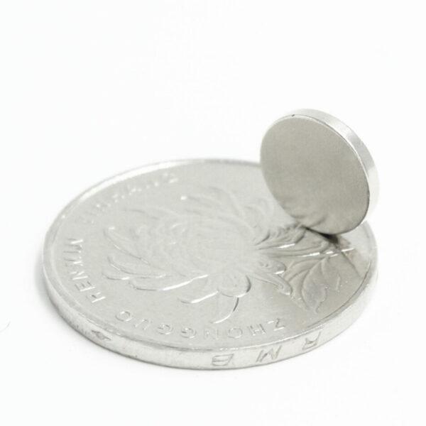 Neodymium Disc Strong Magnet - 10mm x 1.5mm sharvielectronics.com