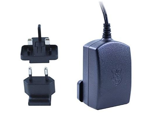 Raspberry Pi 3 BB+ Official Power Adapter 2.5A 5.1V sharvielectronics.com