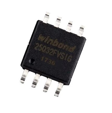 W25Q32 Flash Chip 32Mbit 4MB SOIC-8-Package sharvielectronics.com