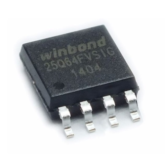W25Q64 Flash Chip 32Mbit 4MB SOIC-8-Package sharvielectronics.com