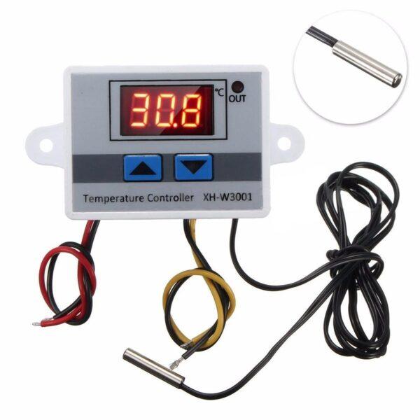 XH-W3001 AC 220V 1500W Digital Microcomputer Thermostat Switch sharvielectronics.com
