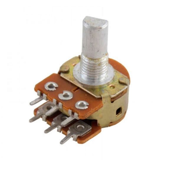 47K Rotary Dual Gang Potentiometer-D Shaft sharvielectronics.com