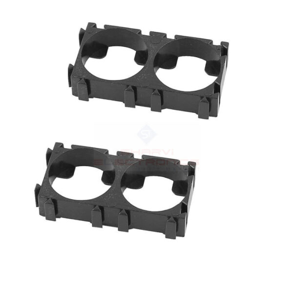 18650 2x1 Battery Cell HolderSpacer-Pack of 2 sharvielectronics.com
