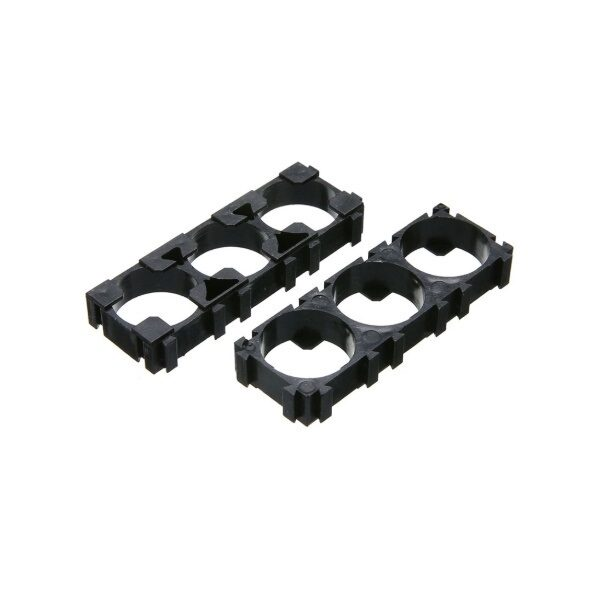 18650 3x1 Battery Cell HolderSpacer-Pack of 2 sharvielectronics.com