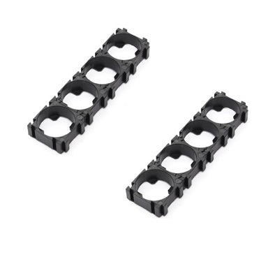 18650 4x1 Battery Cell HolderSpacer-Pack of 2 sharvielectronics.com