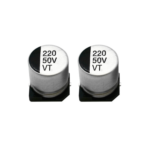 220uF 50V Elec Capacitor – SMD – Pack of 2 sharvielectronics.com