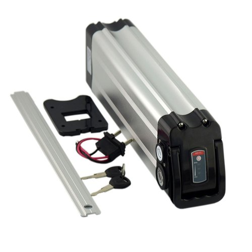 24V Lithium-Ion Battery Pack Aluminium Case with battery Indicator for Electric Cycle (No Battery Inside) sharvielectronics.com