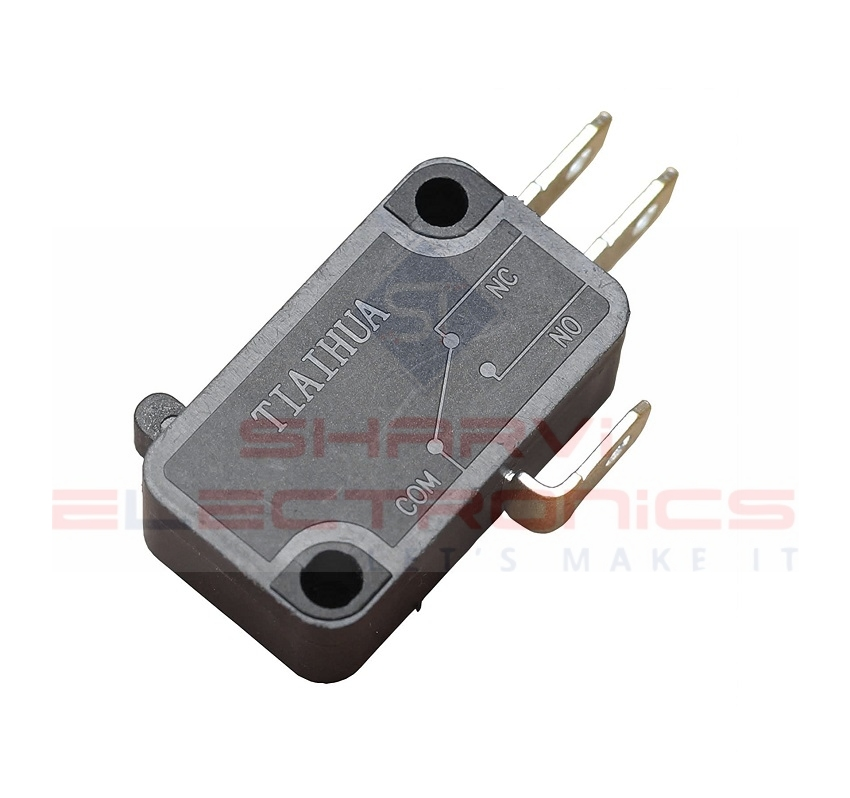3Pin Micro Switch - KW8-XILIE-ACDC - 6A sharvielectronics.com
