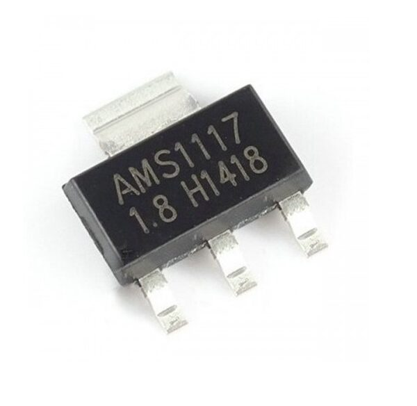 AMS1117 1.8V – Voltage Regulator IC – (SMD SOT-223 Package) sharvielectronics.com