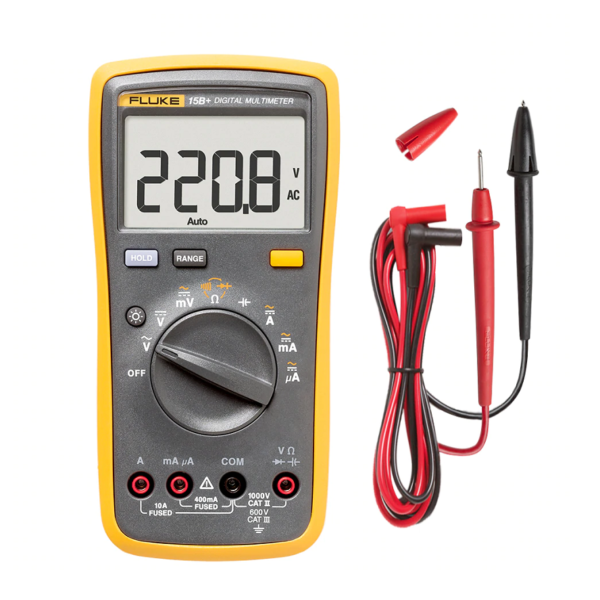Fluke 15B+ Digital Multimeter sharvielectronics.com