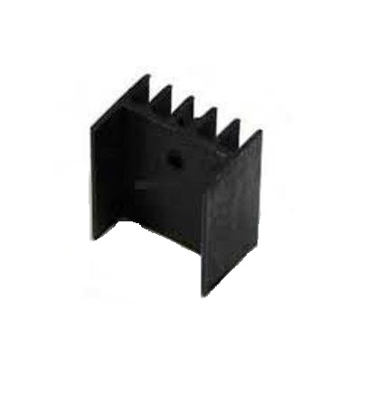 Heat Sink–TO-220 Package–PI48–25mm sharvielectronics.com