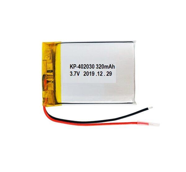 Lipo Rechargeable Battery-3.7V320mAH-KP-402030 Model sharvielectronics.com
