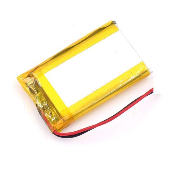 Lipo Rechargeable Battery-3.7V500mAH-KP-402035 Model sharvielectronics.com