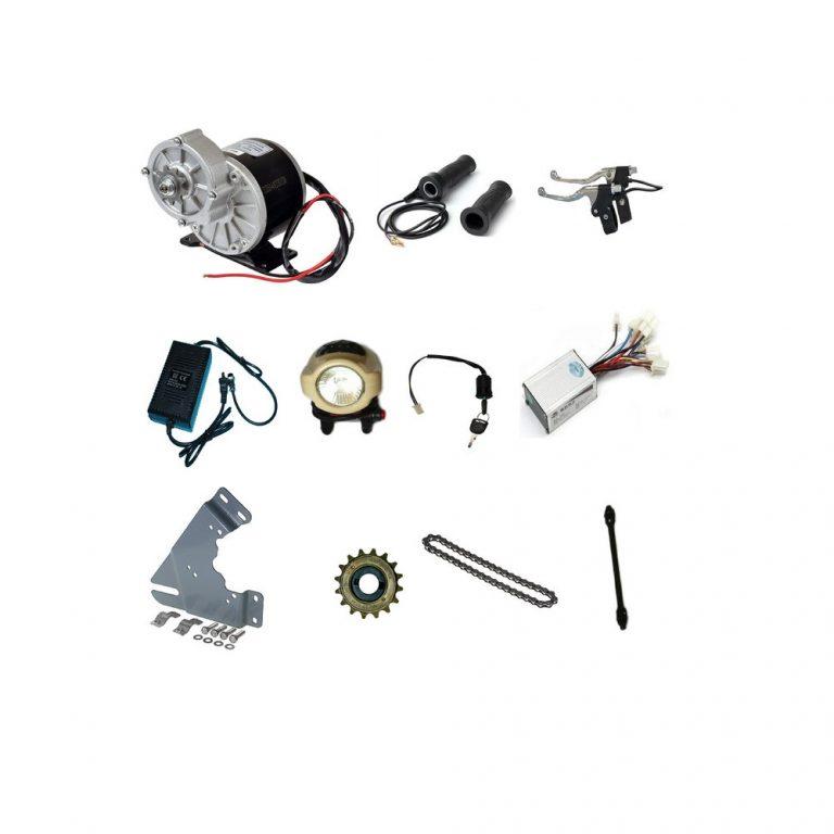 MY1016Z2 24V 250W Motor with E-Bike Combo Kit - V1 sharvielectronics.com