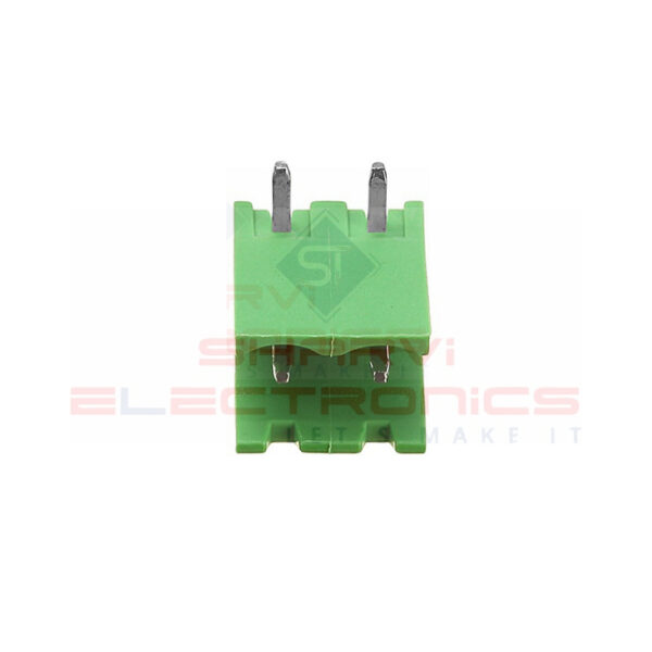 2 Pin Right Angle PCB Mount Male Terminal Block Connector 5.08mm Pitch Sharvielectronics