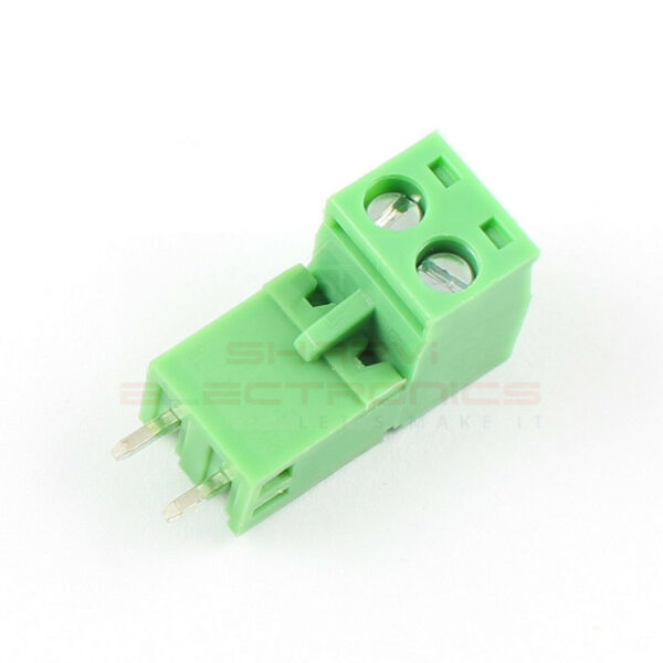 2 Pin Straight Screw Terminal Block Pluggable Plug Connector 5.08mm Pitch-Pair sharvielectronics.com
