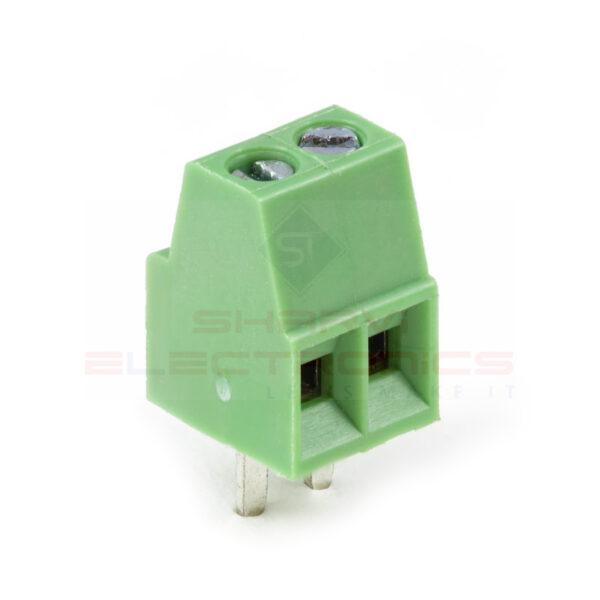 2.54mm 2 Pin Screw Terminal sharvielectronics.com