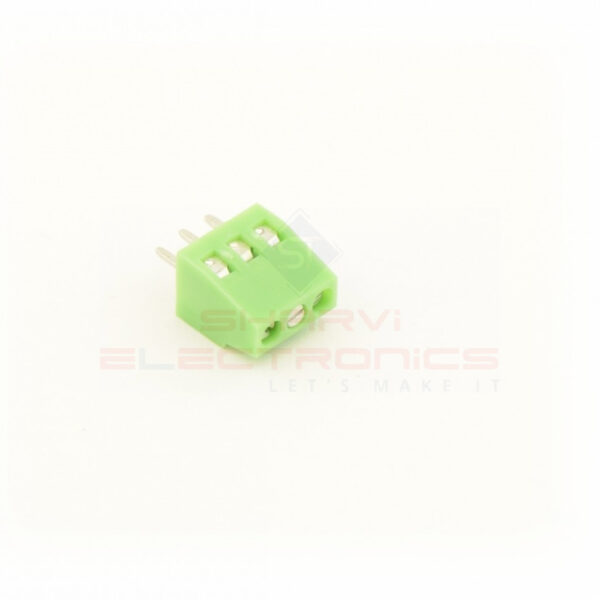 2.54mm 3 Pin Screw Terminal Block sharvielectronics.com