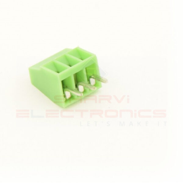 2.54mm 3 Pin Screw Terminal Block sharvielectronics.com