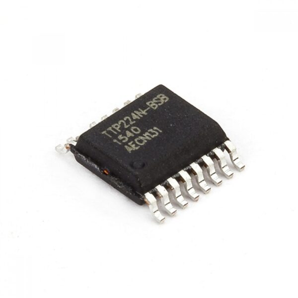 4 Key TouchPad Detector IC TTP224N-BSB SSOP-16 Package sharvielectronics.com