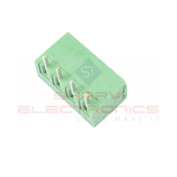 4 Pin Right Angle PCB Mount Male Terminal Block Connector 5.08mm Pitch_Sharvielectronics