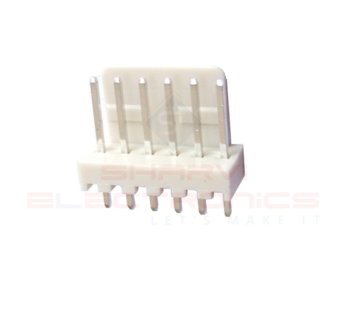 6 Pin Male Relimate Polarized Connector (Molex Connector) sharvielectronics.com