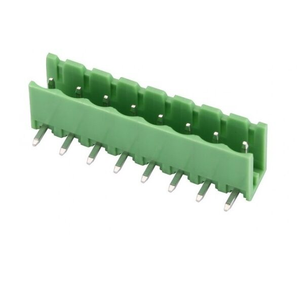 8 Pin Right Angle PCB Mount Male Terminal Block Connector 5.08mm Pitch