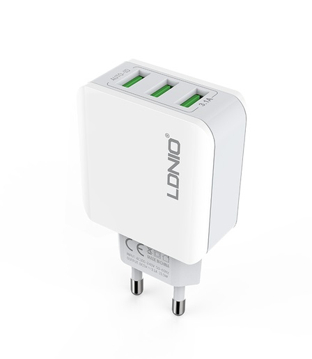 LDNIO 3 Port USB Charger Adapter sharvielectronics.com