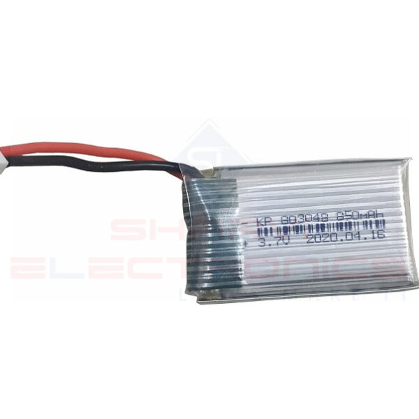 Lipo Rechargeable Battery-3.7V850mAH-KP-803048 For RC Drone sharvielectronics.com
