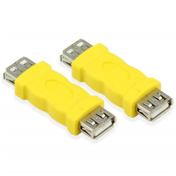 USB 2.0 Female To Female Coupler Extension Adapter sharvielectronics.com