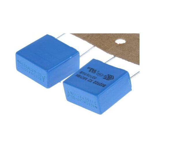 470nF Polypropylene Capacitor PP 305V EMI suppression capacitors (MKP) x2