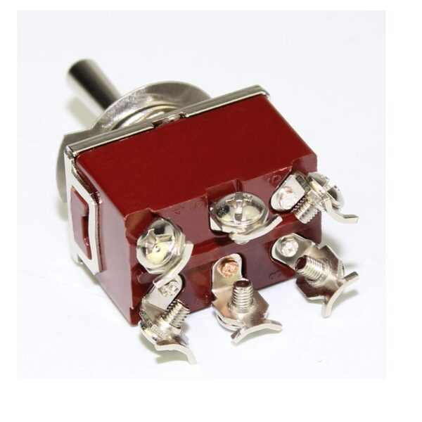 6 Pin 15A250VAC DPDT ON-OFF-ON Toggle Switch sharvielectronics.com