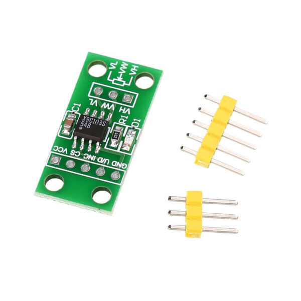 X9C103S Digital Potentiometer Board Module for Arduino-DC 3-5V