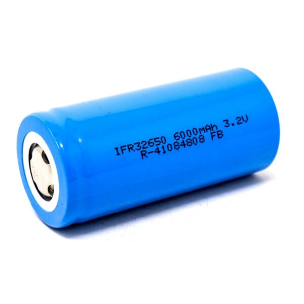IFR 32650 3.2V 6000mAh Rechargeable LifePO4 Battery sharvielectronics