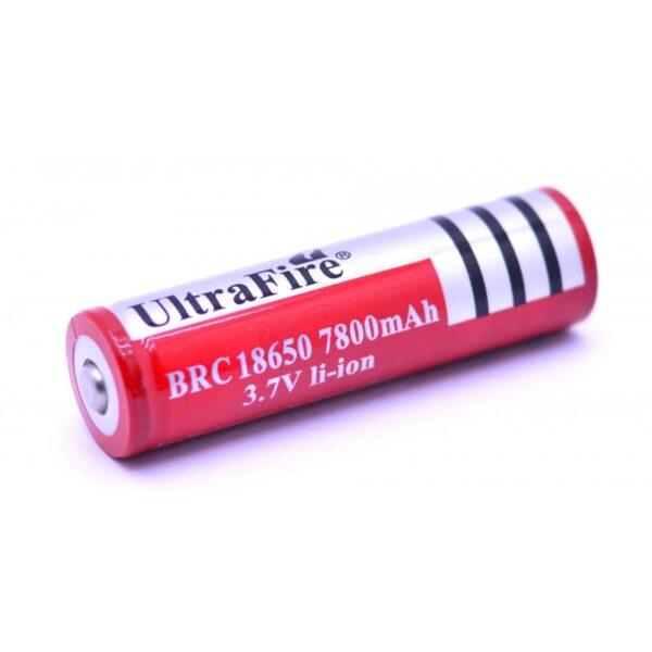 Li-ion Battery-3.7V7800mAH-18650 Model-Ultrafire sharvielectronics sharvielectronics