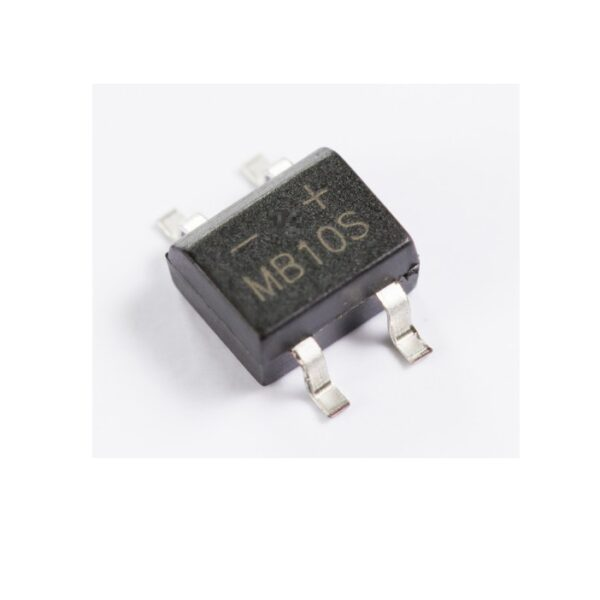 MB10S 0.8A Glass Passivated Bridge Rectifier-SMD sharvielectronics.com