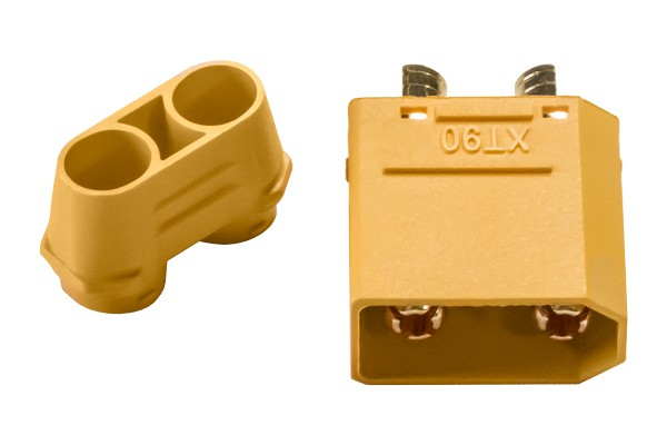 XT90 Male Connector with Cap