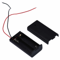 2 x 1.5V AA Battery Holder With Cover and ONOFF Switch_Sharvielectronics
