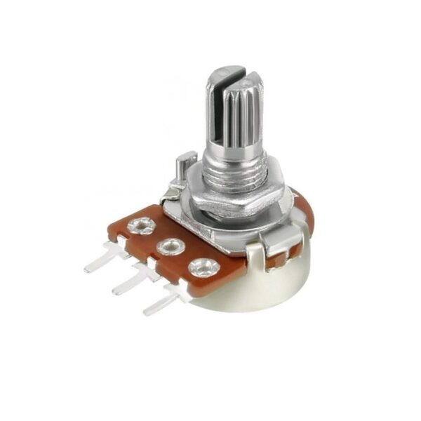 47K Ohm 3Pin 15mm Shaft Potentiometer (47K Linear Rotary Taper Potentiometer) sharvielectronics
