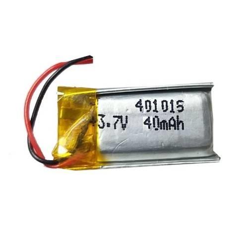 Lipo Rechargeable Battery-3.7V/40mAH-Model-401015